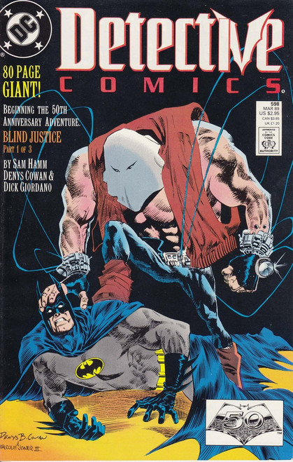 DC Detective Comics #598 Comic Book