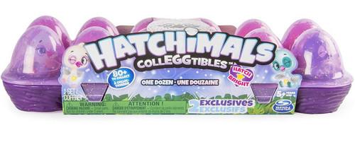 Hatchimals Colleggtibles Season 4 Hatch Bright Mystery 12-Pack [Dozen, Purple Egg Carton]