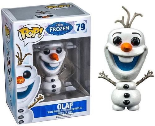 Funko Disney Frozen POP! Movies Olaf Exclusive Vinyl Figure #79 [Glitter, Damaged Package]