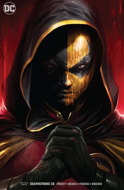 DC Deathstroke #33 Comic Book [Variant]