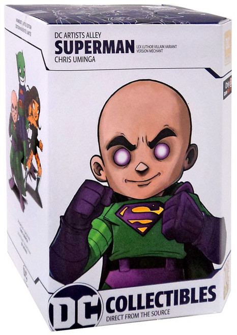 DC Artist Alley Superman Exclusive 6.6-Inch PVC Collector Statue [Lex Luthor Villain Variant]