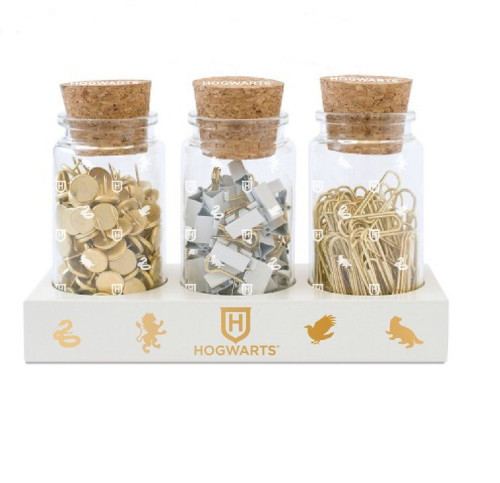 Harry Potter Glass Jar Set with Accessories
