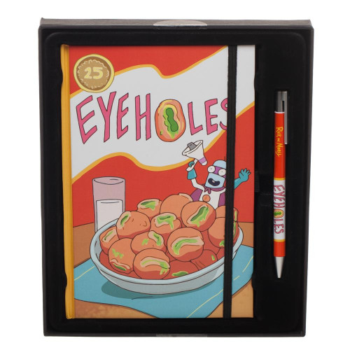 Rick & Morty Eyeholes Journal / Pen Set