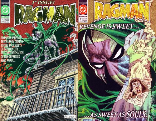 DC Ragman 1 & 2 Lot of 2 Comic Books