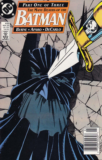 DC Vol. 1 #433 The Many Deaths of The Batman Comic Book