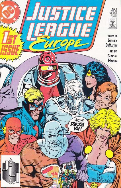 DC Justice League Europe #1 Comic Book