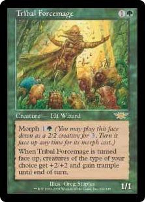 MtG Legions Rare Tribal Forcemage #142 [Slightly Played]