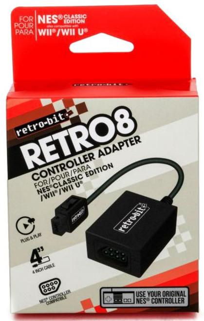 Nintendo Retro 8 NES Classic to Original NES Video Game Adapter (Pre-Order ships November)