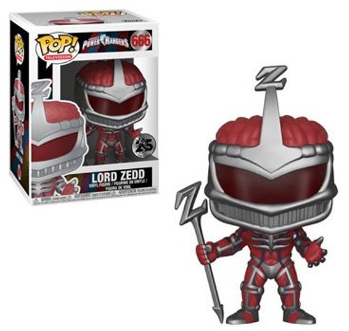 Funko Power Rangers Mighty Morphin 25th Anniversary POP! TV Lord Zedd Vinyl Figure #666
