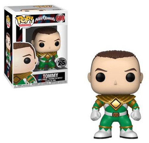 Funko Power Rangers Mighty Morphin 25th Anniversary POP! TV Tommy Vinyl Figure #669