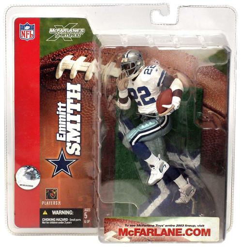 McFarlane Toys NFL Dallas Cowboys Sports Picks Series 6 Emmitt Smith Action Figure [White Jersey]