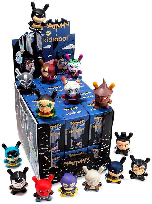 DC Dunny Batman 3-Inch Mystery Box [24 Packs]
