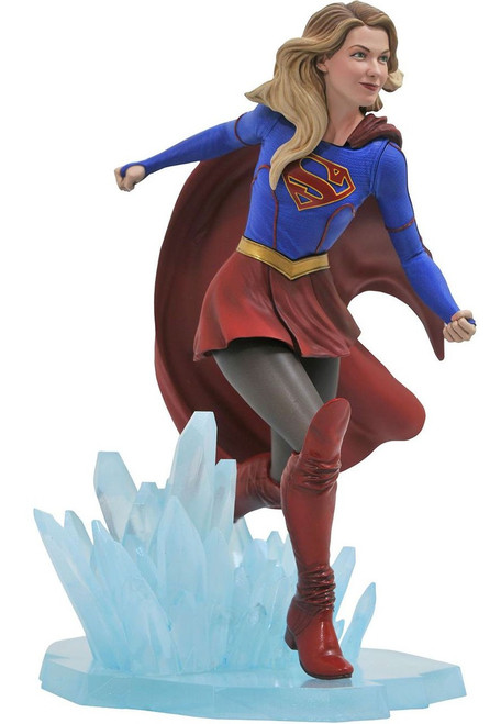 DC Gallery Supergirl PVC Figure Statue [Damaged Package]