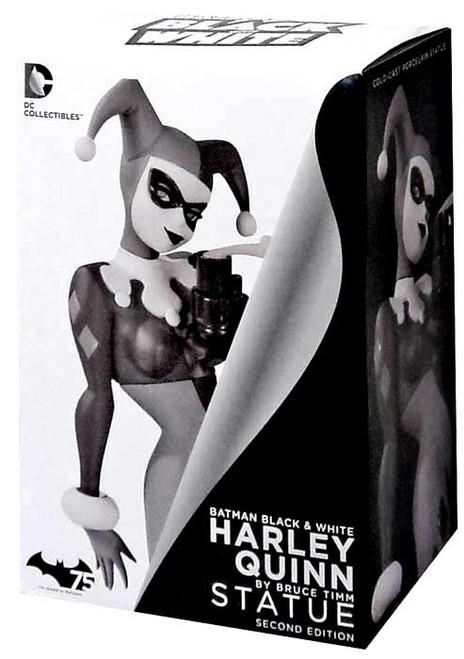 Batman Black & White Harley Quinn Statue [Bruce Timm 2nd Edition]