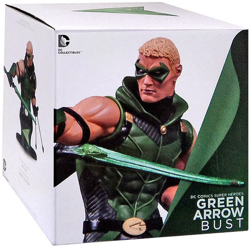 DC The New 52 Super Heroes Green Arrow 6-Inch Bust
