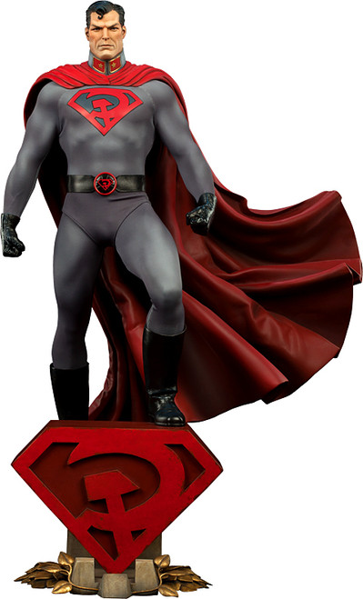 DC Premium Format Red Son Superman Figure