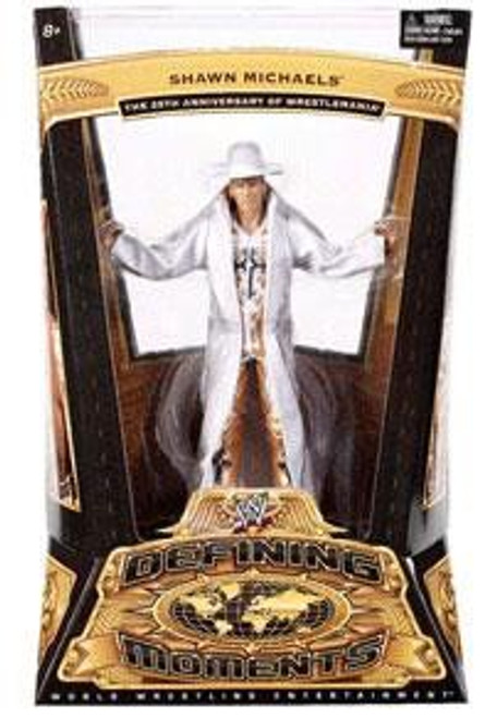 WWE Wrestling Defining Moments Series 1 Shawn MIchaels Action Figure [Wrestlemania 25]