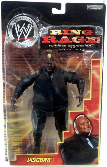 WWE Wrestling Ruthless Aggression Series 16.5 Ring Rage Viscera Action Figure