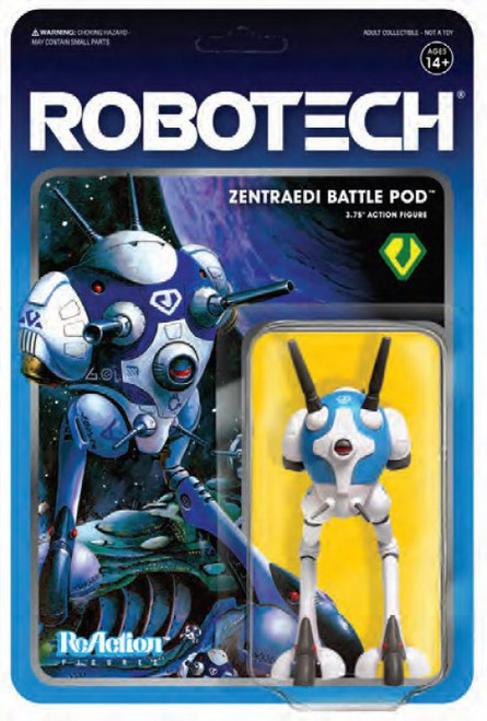 ReAction Robotech Battlepod Action Figure