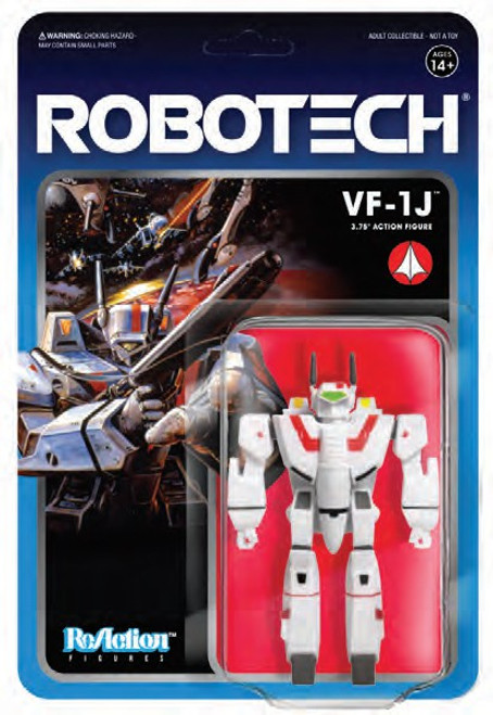 ReAction Robotech VF-1J Action Figure