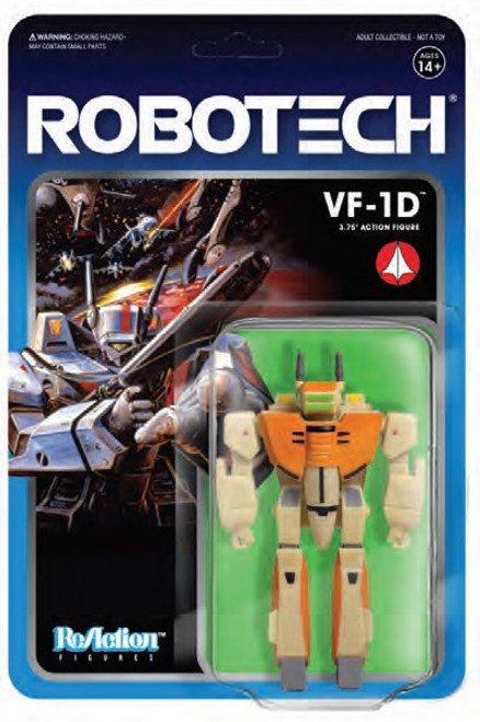 ReAction Robotech VF-1D Action Figure