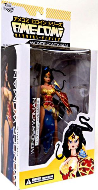 DC Ame-Comi Heroine Series Wonder Woman 9-Inch PVC Statue [Repaint Red Hilt]