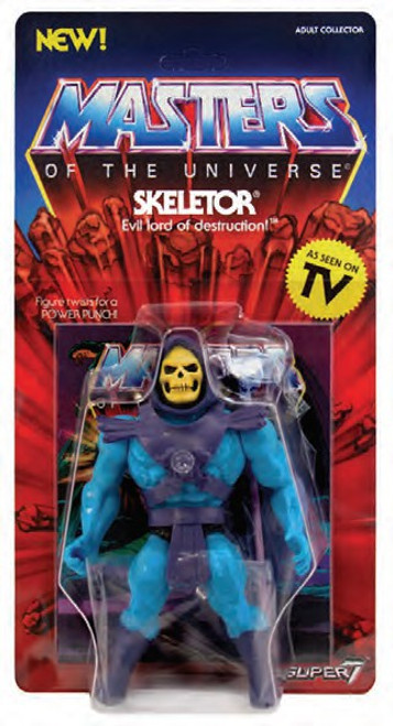 Masters of the Universe Vintage Series 1 Skeletor Action Figure