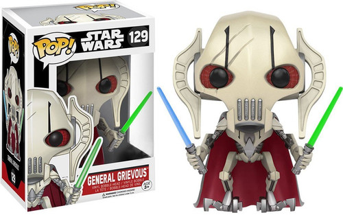 Funko POP! Star Wars General Grievous Exclusive Vinyl Bobble Head #129