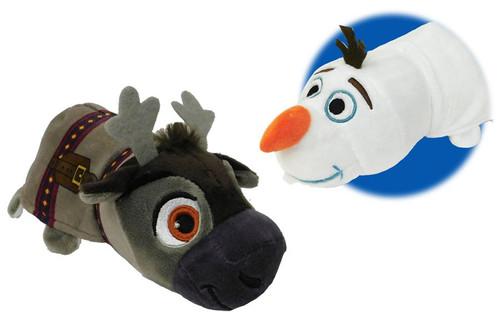 Disney Frozen Flip a Zoo Olaf & Sven 14-Inch Plush