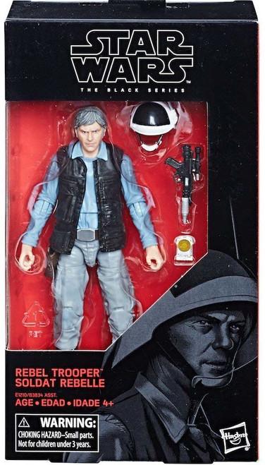 Star Wars Rogue One Black Series Rebel Trooper Action Figure