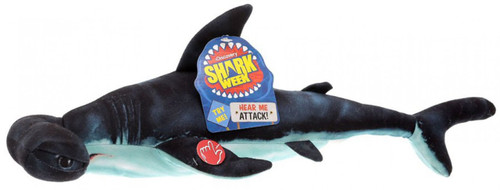 Discovery Shark Week Photo Real Hammerhead Shark 18-Inch Plush with Sound