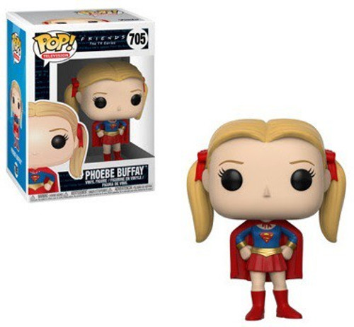 Funko Friends POP! TV Phoebe as Supergirl Vinyl Figure #705