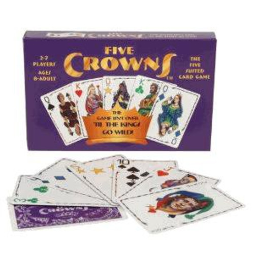 Set Five Crowns Card Game [Damaged Package]