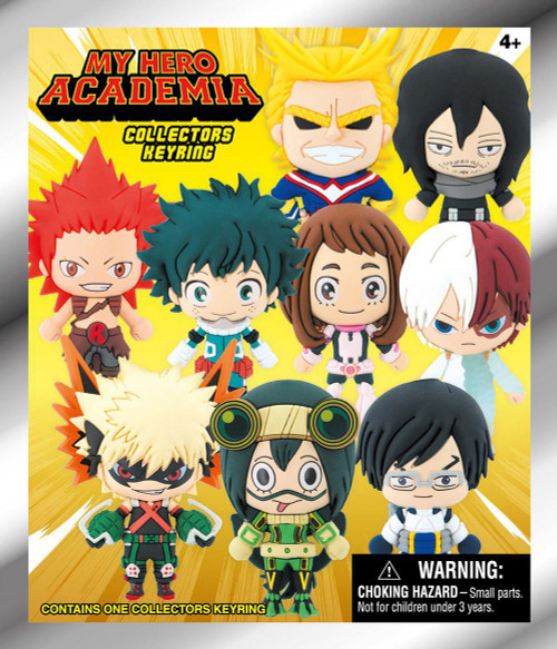 3D Figural Keyring My Hero Academia Series 1 Mystery Pack