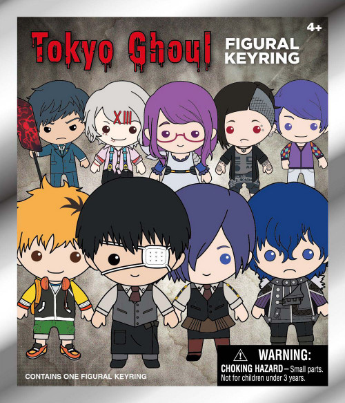 3D Figural Keyring Series 1 Tokyo Ghoul Mystery Pack