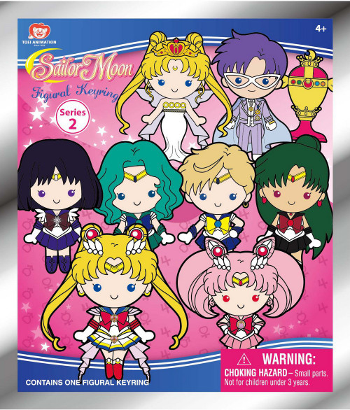 3D Figural Keyring Sailor Moon Series 2 Mystery Pack