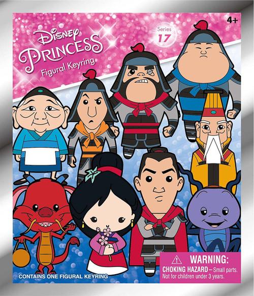 Disney Princess 3D Figural Keyring Disney Series 17 Mulan Mystery Pack [1 RANDOM Figure]