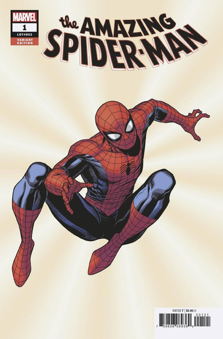 Marvel Amazing Spider-Man #1 Comic Book [Cheung Variant]