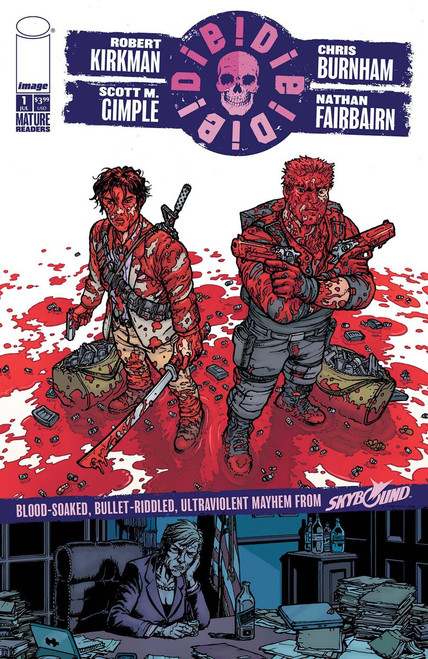Image Comics Die Die Die #1 Comic Book