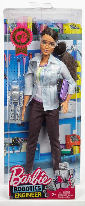 Robotics Engineer Barbie Doll [Brunette Hair]