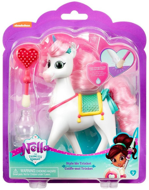 Nickelodeon Nella The Princess Knight Style Me Trinket 7-Inch Figure