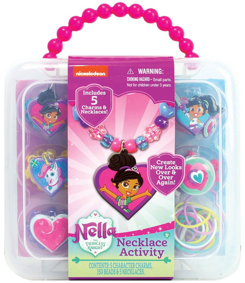 Nickelodeon Nella the Princess Knight Necklace Activity Set