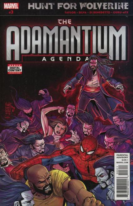 Marvel Comics Hunt for Wolverine #3 Adamantium Agenda Comic Book