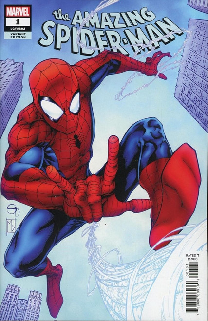 Marvel Comics Amazing Spider-Man #1 Comic Book [Davis Variant Cover]