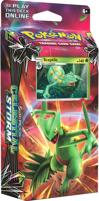 Pokemon Trading Card Game Sun & Moon Celestial Storm Leaf Charge Theme Deck [Sceptile]