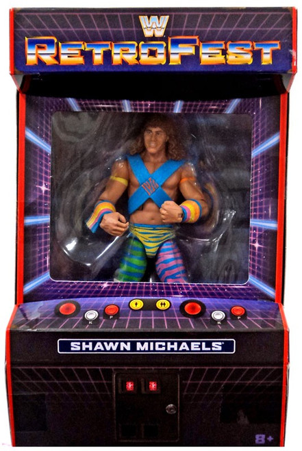 WWE Wrestling Elite Collection RetroFest Shawn Michaels Exclusive Action Figure