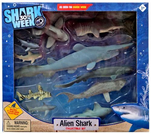 Discovery Shark Week 30th Alien Shark Collectible Set