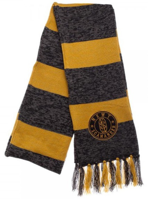 Harry Potter Fantastic Beasts and Where to Find Them Newt Scamander Jacquard Scarf Apparel