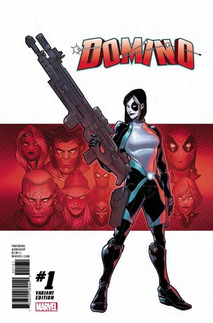 Marvel Comics Domino #1 Comic Book [Baldeaon Varaint Cover]