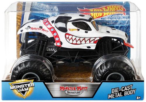 Hot Wheels Monster Jam Monster Mutt Dalmatian Die-Cast Car [2018]